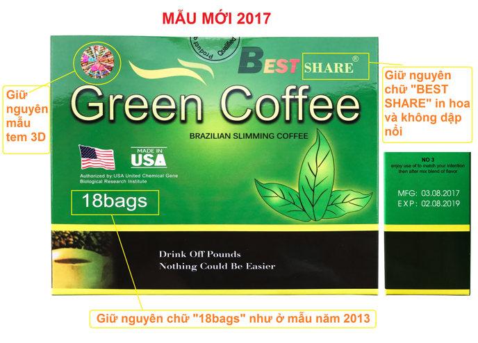 Phân biệt Green Coffee thật và giả 103