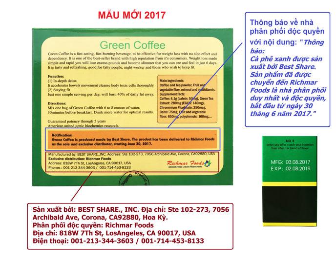 Phân biệt Green Coffee thật và giả 105