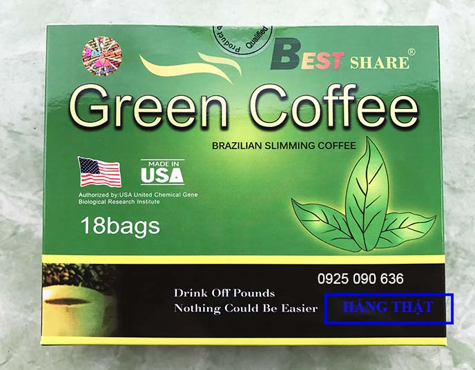 hinh anh hop ca phe giam can green coffee that 2014