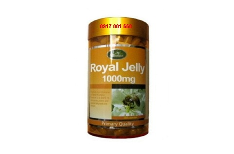 sua ong chua Royal Jelly 1000mg