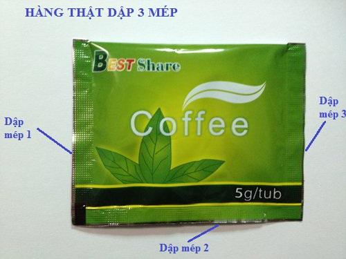 Phân biệt Green Coffee thật và giả
