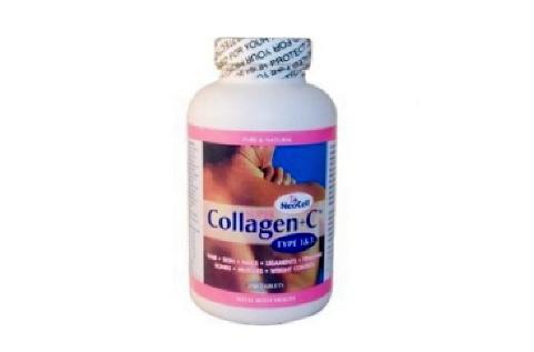 Collagen+C ( hàng Mỹ ) chai 350 viên