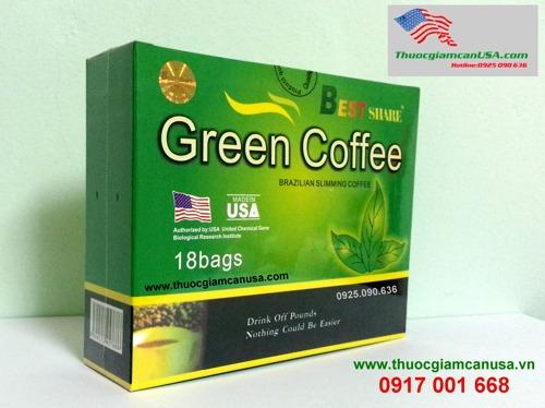 Cà phê giảm cân Green Coffee chính hãng của Mỹ