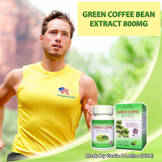 Cà phê giảm cân Green Coffee Bean có tốt không?