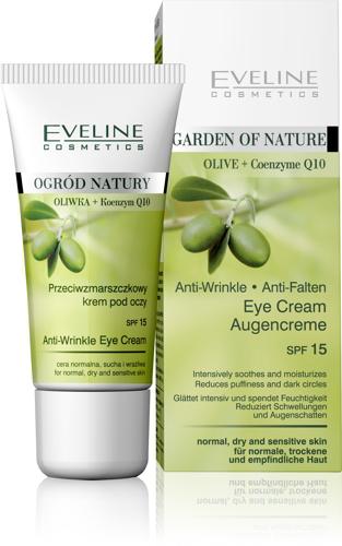 Kem dưỡng da vùng mắt - Eveline Olive + Q10 Eye cream