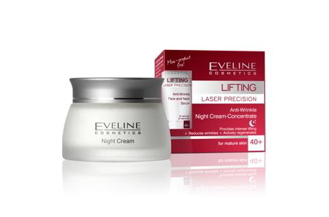 Kem dưỡng đêm nâng cơ Eveline Lifting 40+