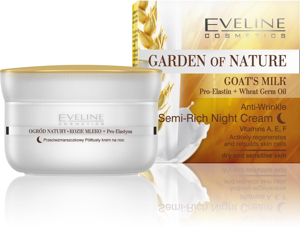 Kem dưỡng Đêm dưỡng chất sữa dê Eveline Garden of Nature Goat's Milk