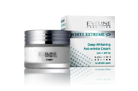 Kem dưỡng da ban ngày Eveline White Extreme 3D Day
