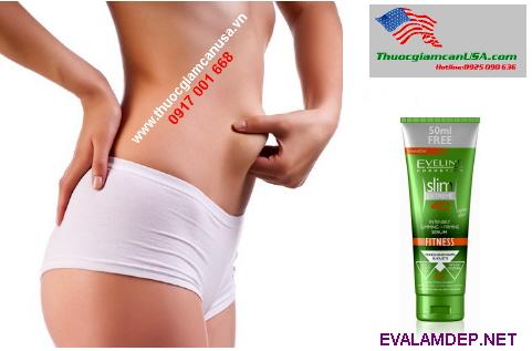 Kem giảm béo Eveline Slim Extreme 4D Ba Lan