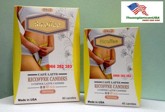 Kẹo giảm cân Ricoffee số 1 thế giới
