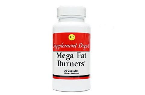 Mega Fat Burner No 4.1 - Sản phẩm giảm cân cao cấp của hãng Nutrition Depot