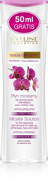 Nước tẩy trang Hoa Lan Tây - Eveline Magia Orchidei