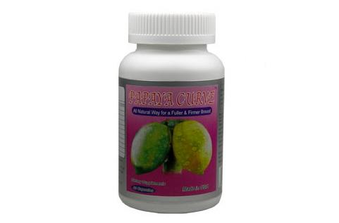Thuốc uống nở ngực Breast Enhance Cream từ tinh chất đu đủ