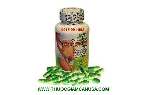 Rich Slim - Sản phẩm giảm cân thảo dược hiệu quả an toàn