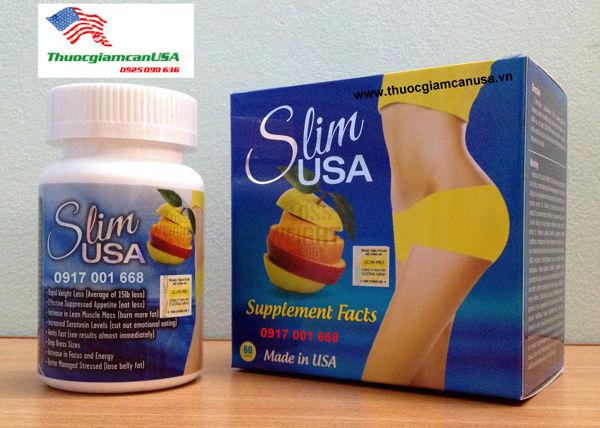Slim Usa - Viên giảm cân hiệu quả được ưa chuộng hàng đầu