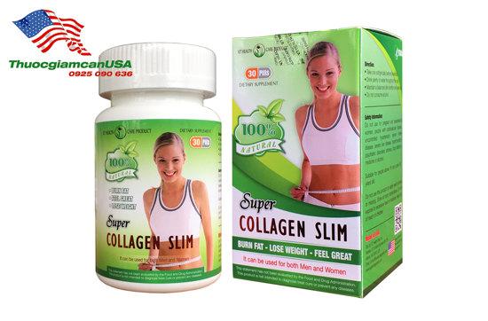 Viên giảm cân Super Collagen Slim chính hãng