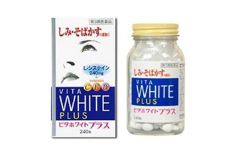 Viên uống trị nám VITA White Plus CEB2 giúp da trắng sáng, chống lão hóa